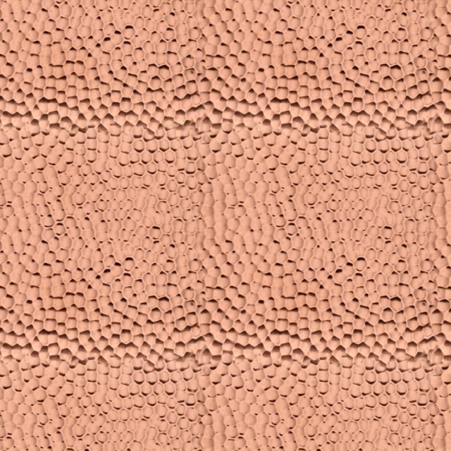 Hammered Copper Texture Pattern