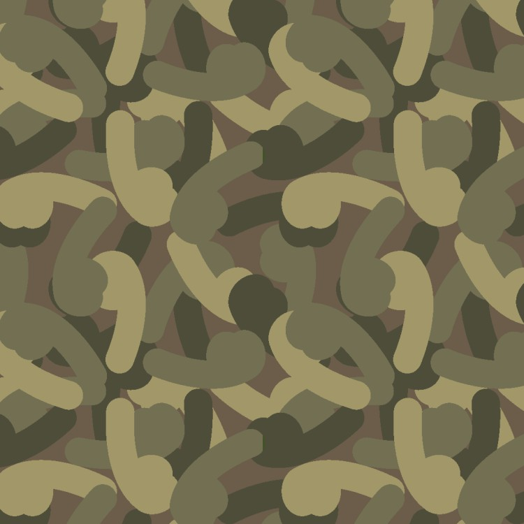 Penis Camouflage Pattern Enchanting Camo Pattern